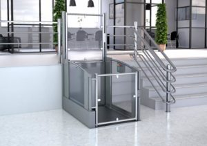 Open Vertical Platform Lifts