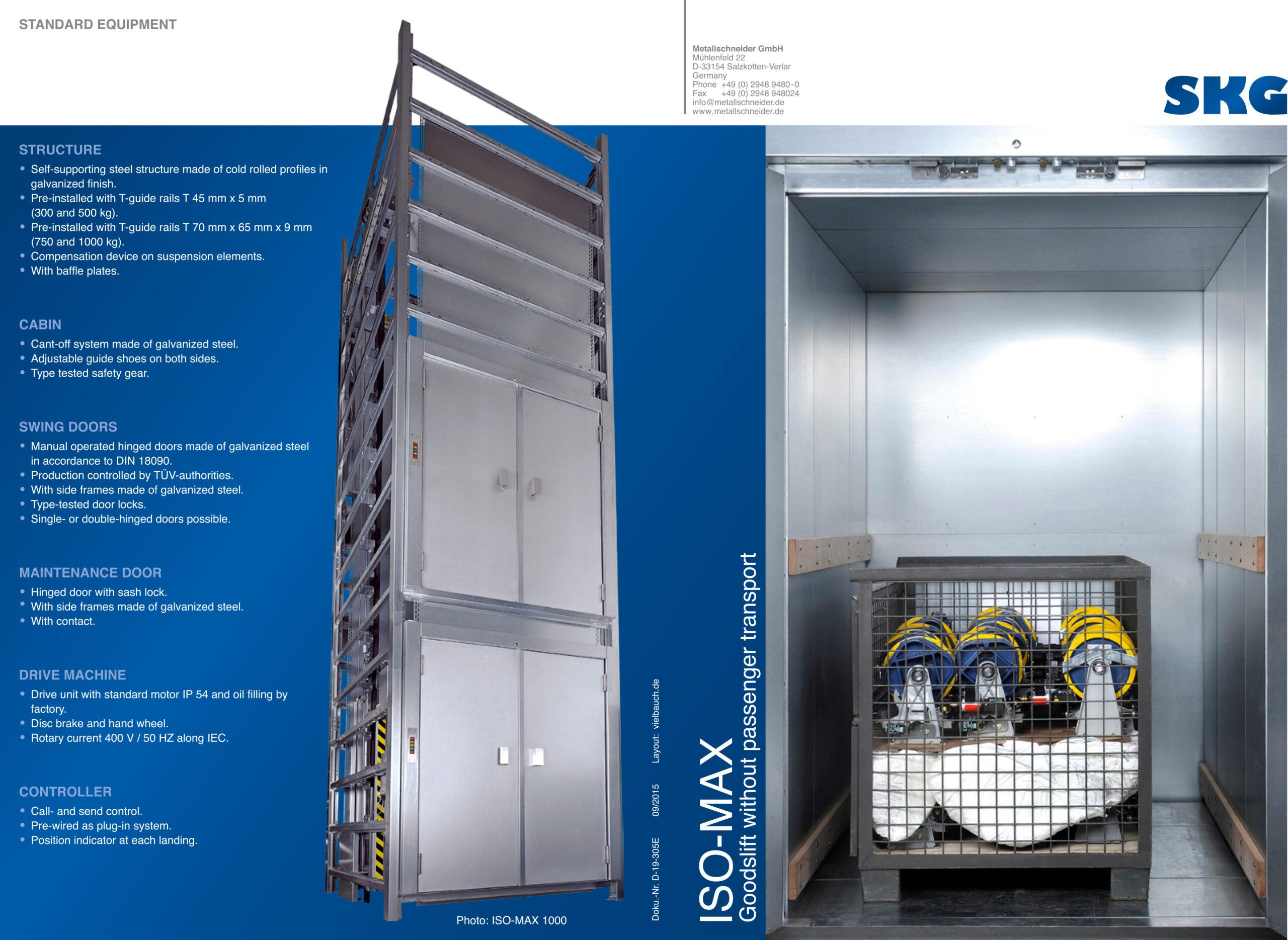 Open Vertical Platform Lifts